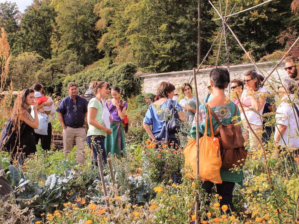Visite guidée du Jardin