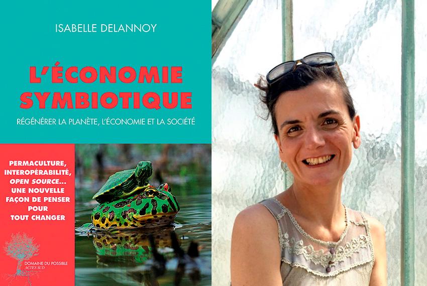 Atelier économie symbiotique avec Isabelle Delannoy