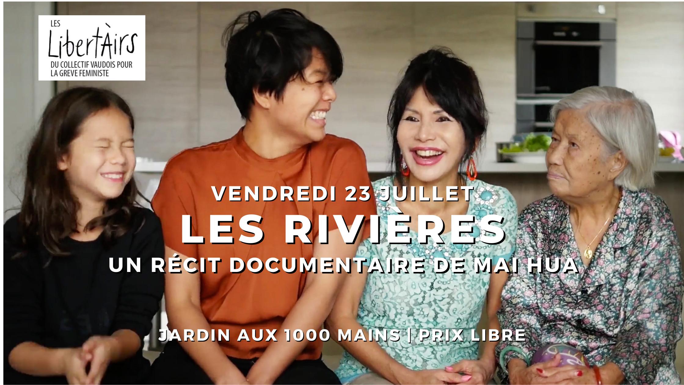Cinéclub féministe – Les Rivières