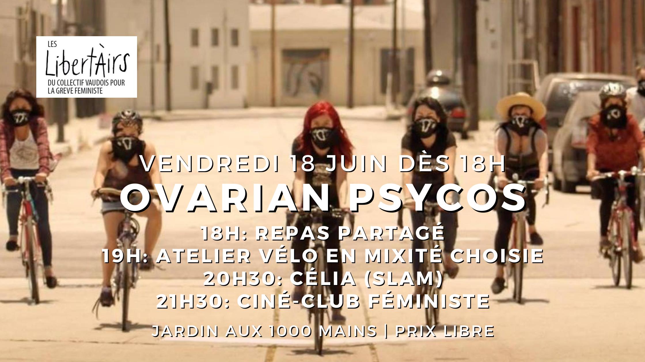 Cinéclub féministe – Ovarian Psycos